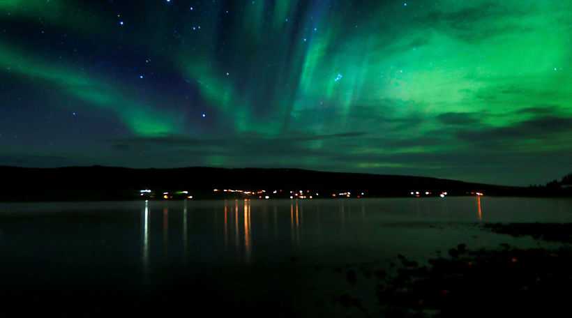 Northern Lights in Fascinating Iceland